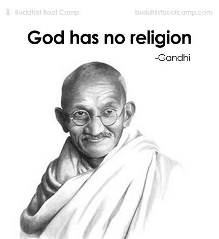 God Has No Religion Gandhi Mahatma